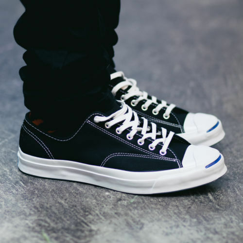 Converse Jack Purcell Signature Ox Black White Low Top Sneaker
