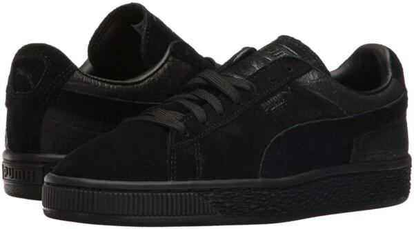 Puma Suede Classic Casual Emboss Black Shoes 36137201 Mens Shoes Sizes