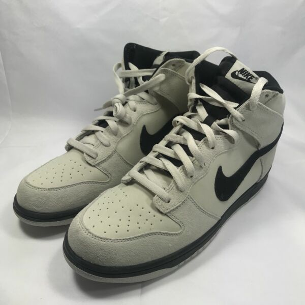 NWT Nike Dunk Hi Air Force One Basketball Retro -LightBone - 904233-002 -SZ-11