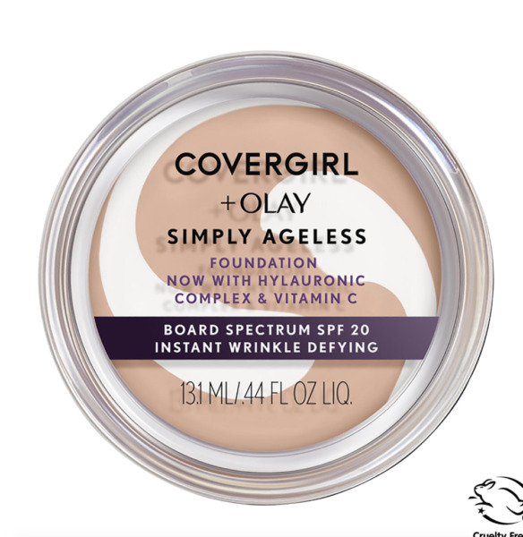 (1) Covergirl + Olay Simply Ageless Foundation You Choose