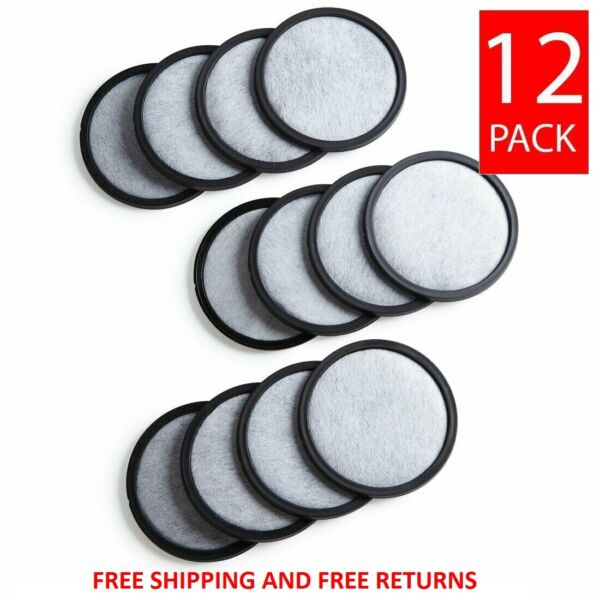 12 Mr. Coffee Replacement Charcoal Water Filter Disks for ALL Mr Coffee Machines