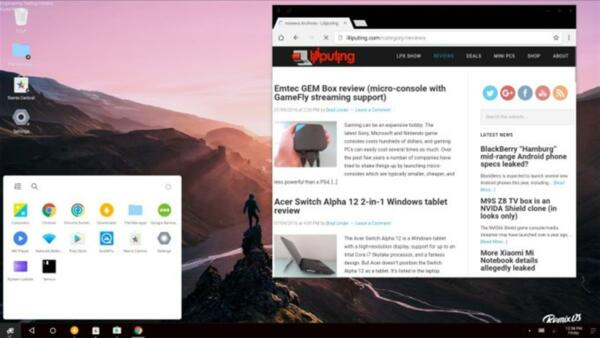 Android 6 Marshmallow Remix OS For PC - Computers - Desktops - Laptops 32-64 Bit