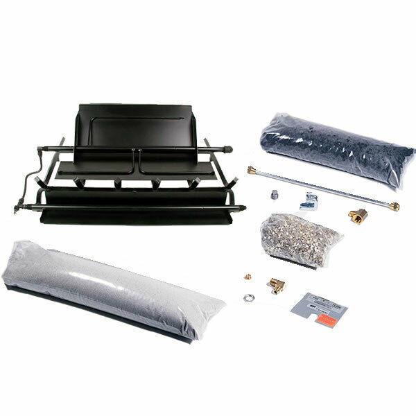 Rasmussen TimberFire Series Multi-Burner and Grate Kit Natural Gas 24-Inches