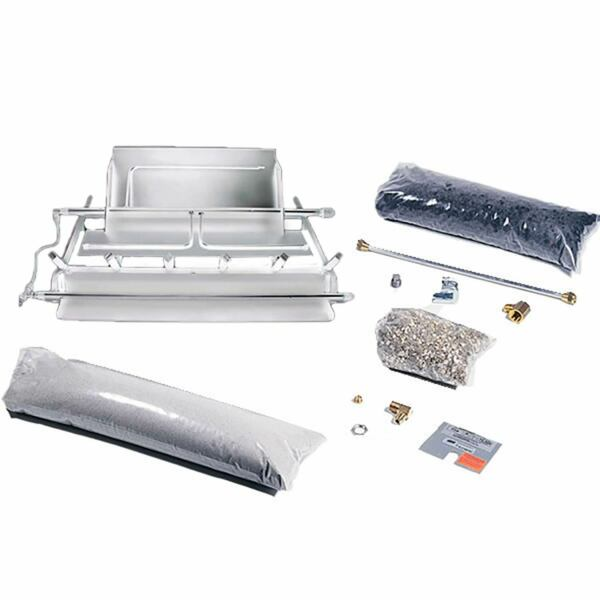 Rasmussen TimberFire Series Stainless Steel Multi-Burner and Grate Kit Propane