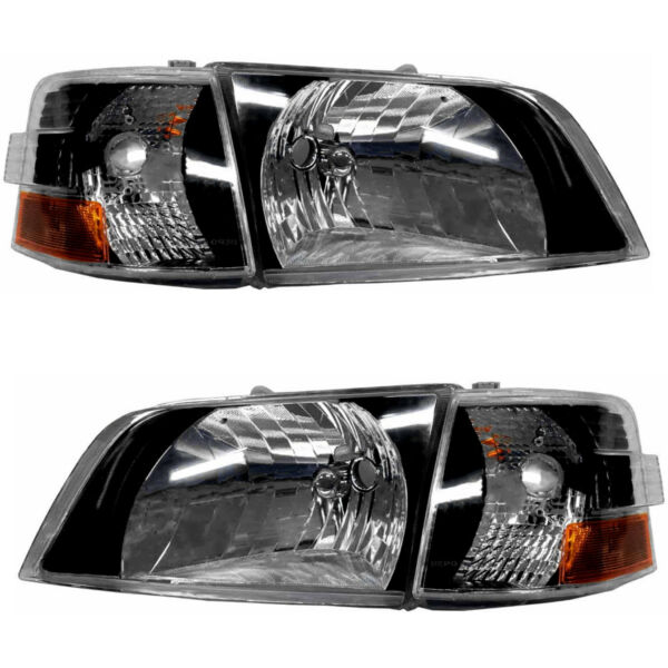Performance Headlights NEW Pair Set for 1996-2003 Volvo VNL 1996-2017 Volvo VNM