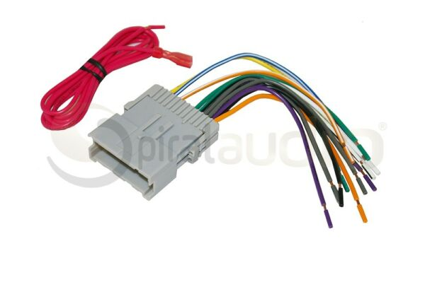 GM 2000 2012 Radio Wire Harness Aftermarket for Radio Installation WH 0039 $11.99