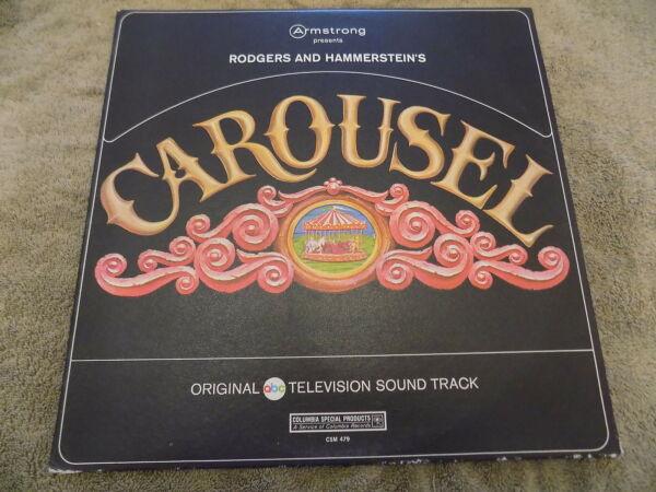 CAROUSEL Rodgers amp; Hammerstein LP original TV soundtrack EX