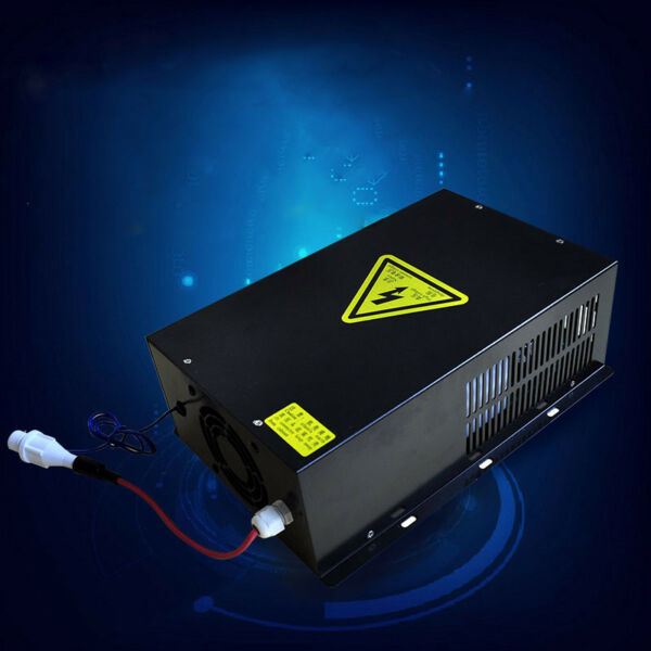 40W 60W 80W 100W Power Supply For Water Cooled Tube CO2 Laser Engraving Machine