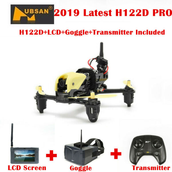 Hubsan H122D X4 STORM 5.8G FPV Micro Racing Drone Quadcopter 720P+Goggles+ LCD