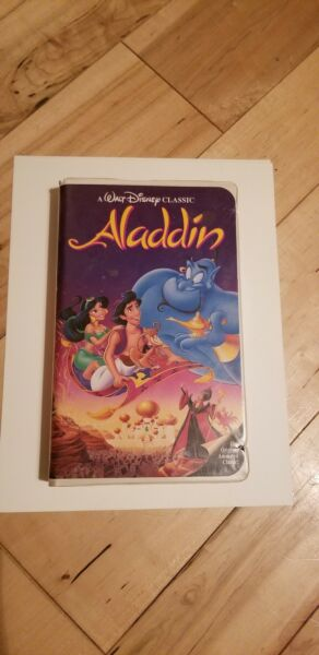 Aladdin Rare Black Diamond Edition (VHS 1993)