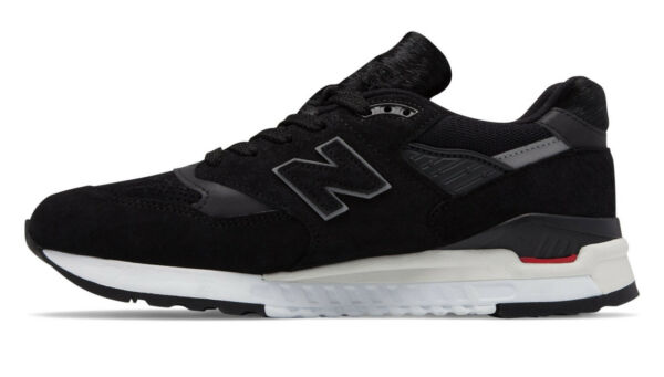 New Balance 998 in Black/Red M998TCB Free Ship