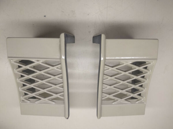 Vermont Castings WinterWarm END CAPS Sand 1552 Fireplace Stove 1321289 1321290