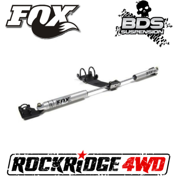 FOX Performance 2.0 DUAL STEERING STABILIZER KIT for 07-18 JEEP WRANGLER JK