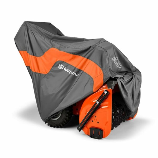 Husqvarna Snow Thrower Blower Protective Heavy Duty Tarp Cover Gray  582846301
