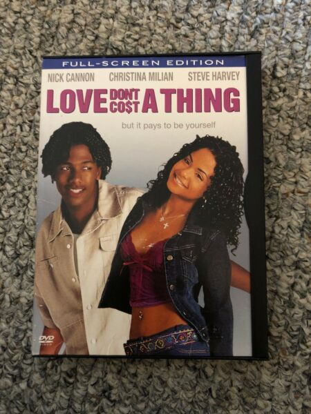 Love Dont Cost a Thing DVD 2004 Full Screen $3.50