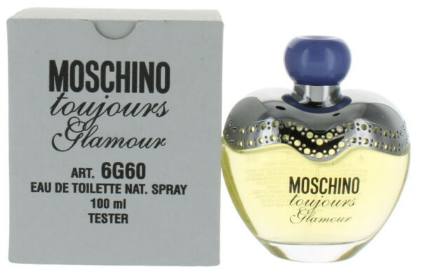 Toujours Glamour by Moschino for Women EDT Perfume Spray 3.3 oz. Tester NEW $26.99