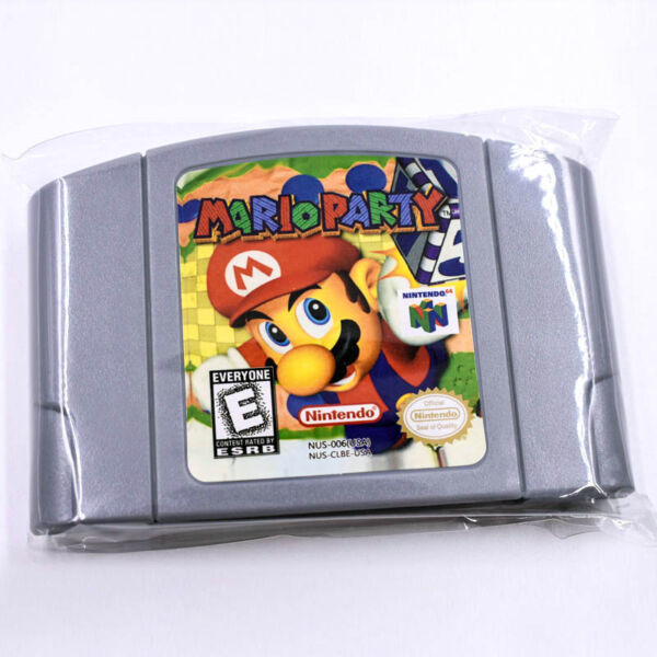 For Nintendo N64 Game Mario Party 1 Video Game Cartridge Console Card New 2018