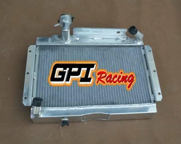 Aluminum radiator  for MG MGA 1500 1600 1622 DE LUXE 1956-1962 manual/MT