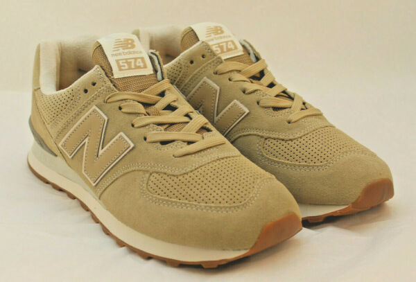NEW BALANCE 574 Size 10.5 M Classic Men's Casual Brown Tennis Shoe RETAIL $80