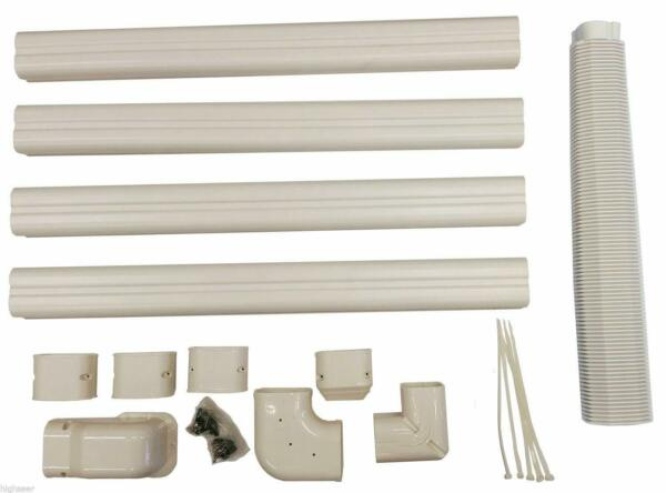 Decorative PVC Line Cover Kit for Heat Pumps and Mini Split Air Conditioners $49.99