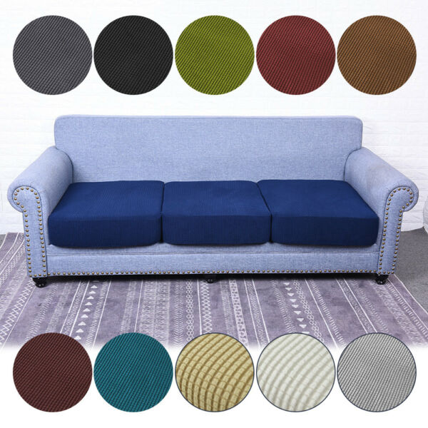 1 4 Seat Sofa Cover Couch Slipcover Stretchy Cushion Pet Dog Furniture Protector $15.99
