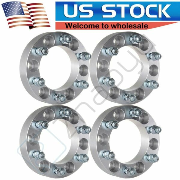 4x 1.5quot; Thick 6x5.5 6x139.7 6 Lugs Wheel Spacers fits 1999 2018 GMC Sierra 1500 $79.50