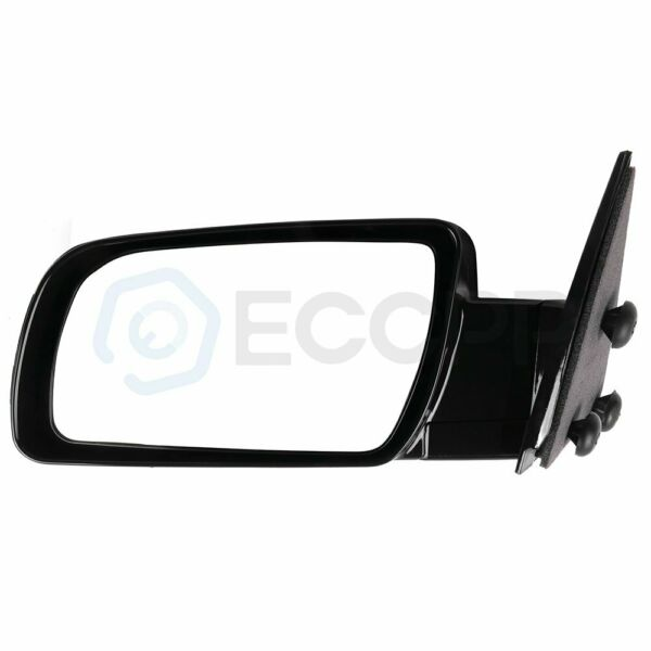 Manual Black Side Mirrors LH & RH Pair Set of 2 for 88-98 GMC Chevy Pickup Truck