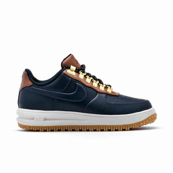 NIKE LF1 DUCKBOOT LOW AIR FORCE OBSIDIAN SADDLE BROWN GUM MULTIPLE SIZES