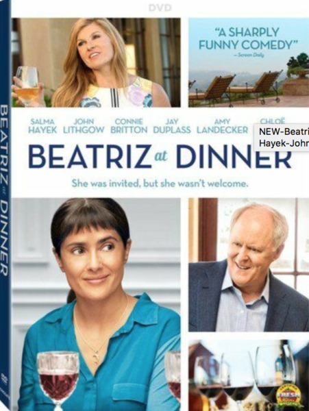 Beatriz at Dinner 2017 Salma Hayek John Lithgow Connie Britton NEW DVD SEALED
