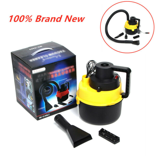 2019 NEW Portable Wet and Dry Electric Handheld Super Suction Car Vacuum Cleaner