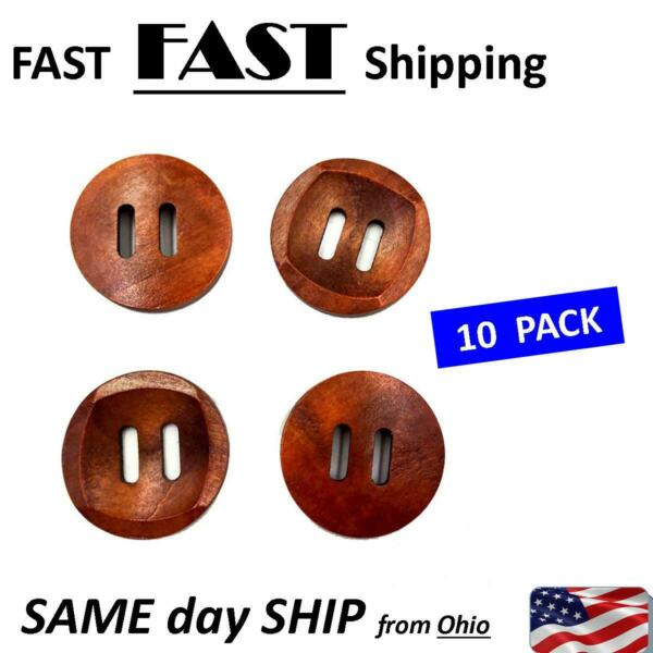 Large Wood Buttons 2 hole