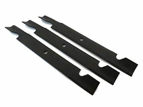 SET OF 3 GENUINE OEM TORO PART # 115 9649 03 BLADES HI FLOW 20.5quot; FOR Z MASTER