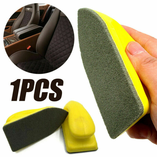 Car Leather Seat Care Detailing Clean Nano Brush Auto Interior Wash Accessories