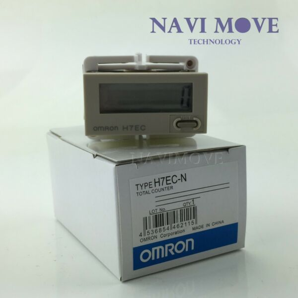 US Stock Omron H7EC-N Digital Total Counter Totalizer H7ECN Module New In Box
