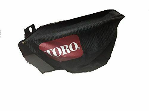 GENUINE OEM TORO PART #121 1391 GRASS BAG ASSEMBLY; REPLACES 106 0975 11 5609
