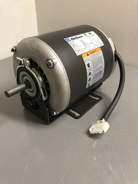 NEW ELECTRIC MOTOR 13HP 115VAC 1725RPM 1-PH 60HZ 48Y FRAME ODP. (SKID)