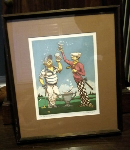 ART By: Gerald G Purdy.. peice is in great cond.. 1200 produced... very color.