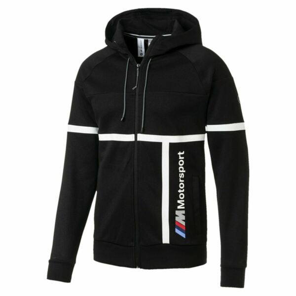 577788 01 Mens Puma BMW Motorsport Hooded Sweat Jacket