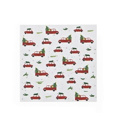 Harman Christmas Red Truck Luncheon Paper Napkins 20 Pack FREE SHIPPING