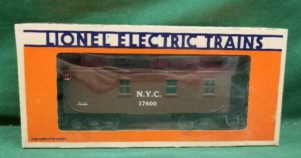 Lionel O Gauge #6 17600 New York Central Wood Sided Caboose $29.95