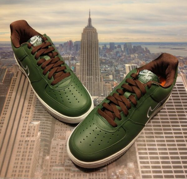 Nike Air Force 1 Low Retro Hong Kong Deep Forest Size 11.5 Mid High 845053 300