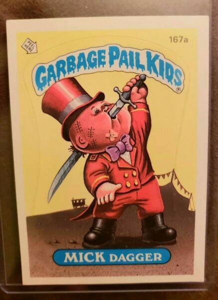 *AUTHENTIC* 1986 Garbage Pail Kids Cards Series 5