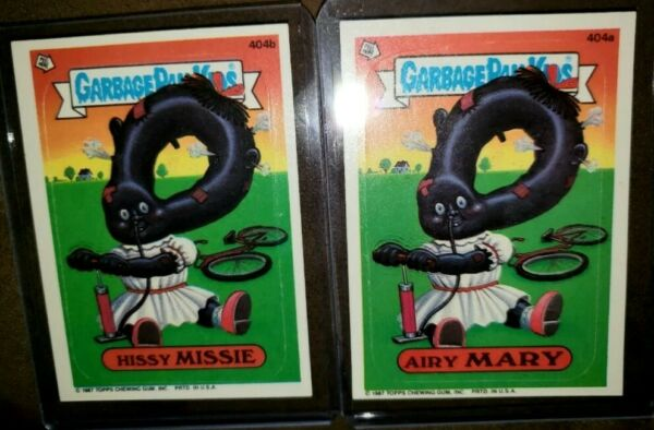 1987 Garbage Pail Kids Cards #404 ab ~Hissy MISSIEAiry MARY ~MINTAUTH CARDS~