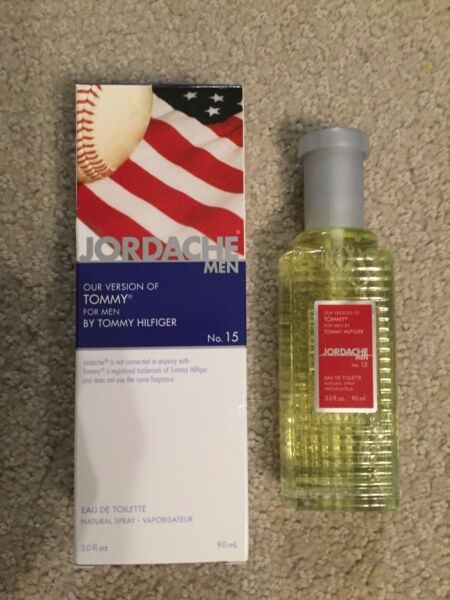 JORDACHE our version of TOMMY for Men by Tommy Hilfiger 3 oz NEW $9.99