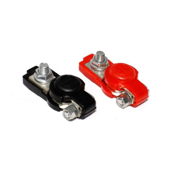Universal Negative Positive Auto Battery Cable Terminal Top Post For Cars $9.95