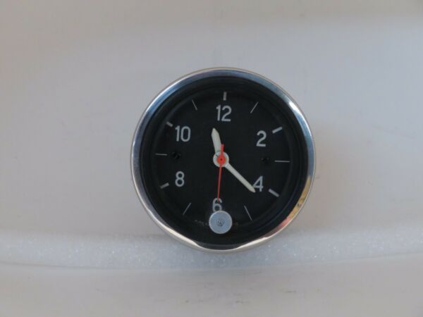 12 Volt Accessory Dash Clock Fits Austin Healey MGB Triumph Aston Martin BMW
