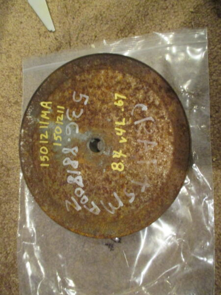 Craftsman Snowblower auger drive pulley sheave 151211MA Noma 8.4 quot; 826 5 8quot;