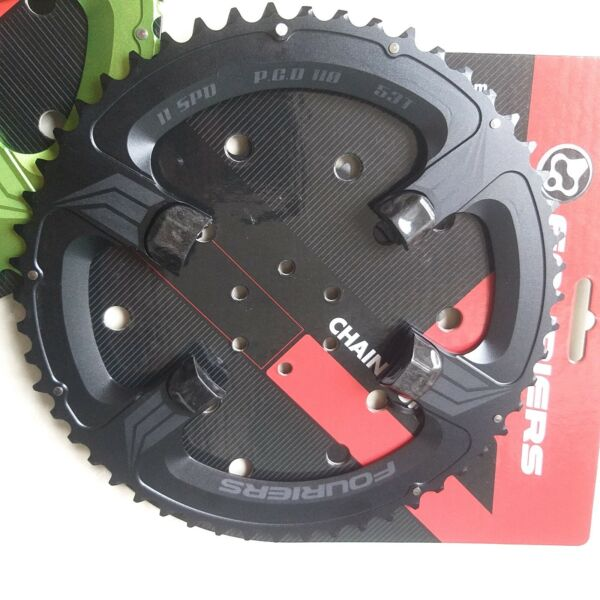 FOURIERS PCD110 Double Bike Chainring For Shimano 105 5800 UT 6800 Ultegra $102.51