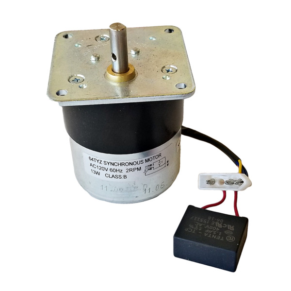 PelPro amp; Pleasant Hearth Synchronous Auger Feed Motor 2 RPM OEM SRV7000 670