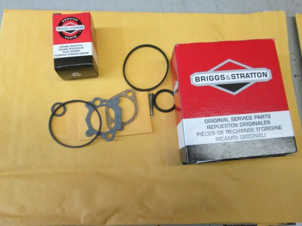 OEM BRIGGS CARBURETOR KIT PART# 498260 $17.84